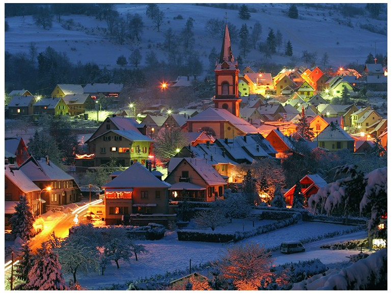Christmas tour in Alsace