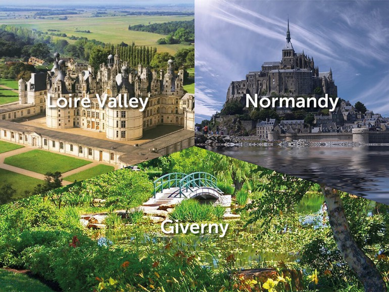 Deep Inside France Tour - Part 4: Loire Valley, Normandy, Giverny ...