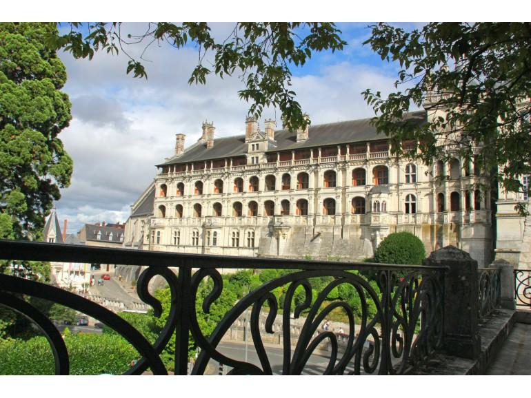 Royal Chateau of Blois - Facade des Loges - Loire Valley - France - (C) D. Lepissier