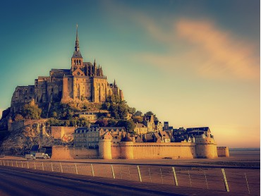 NDY-D1 - NDY-PD4 Mont Saint Michel - Normandy - France - Image par Walkerssk