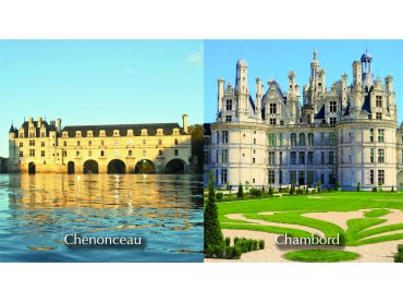 PASS Loire Valley Must see : Chateau of Chambord and Chenonceau