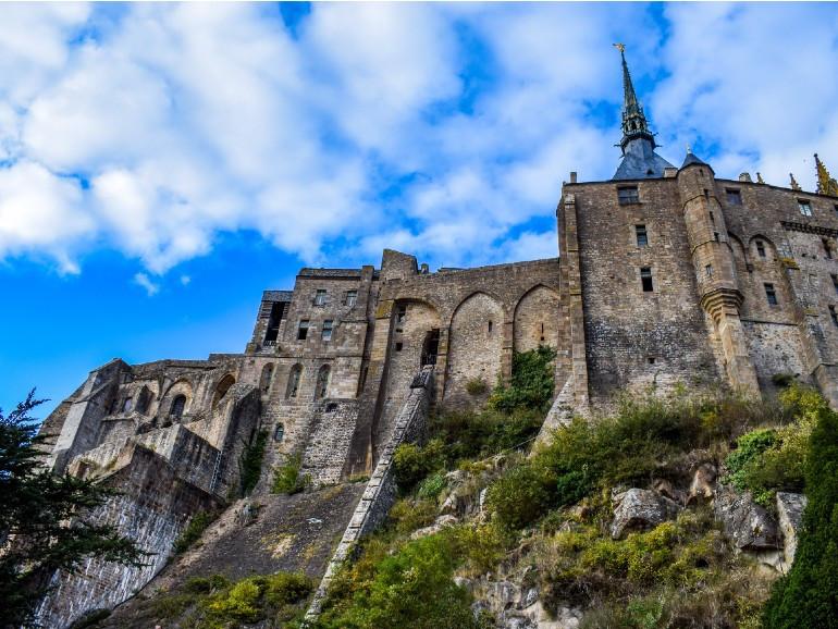 NDY-D1 - NDY-PD4 Mont Saint Michel - Normandy - France - Image par Walkerssk